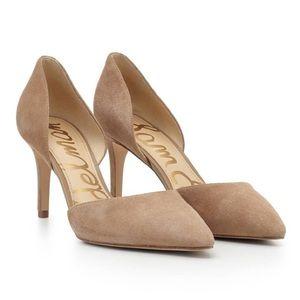 Sam Edelman Telsa D'Orsay Pointed Toe Stilettos